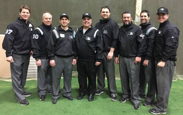 Staff and attendees from 2016 NY Umpire Clinic